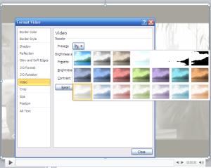 meniu Video Tools