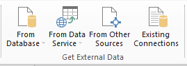 Power Pivot - Get External Data - Excel 2013