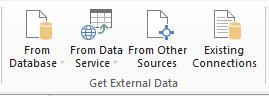 Power Pivot - Get External Data - Excel 2013
